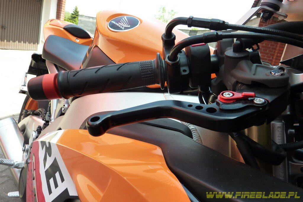Klamki Womet Tech Honda Fireblade Sc59 Cbr 1000rr 2008 2011